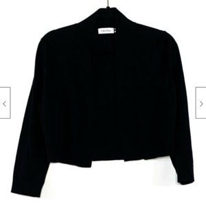 Calvin Klein 3/4 Sleeve Cropped Cardigan Sweater